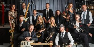 12-piece Essex based covers band