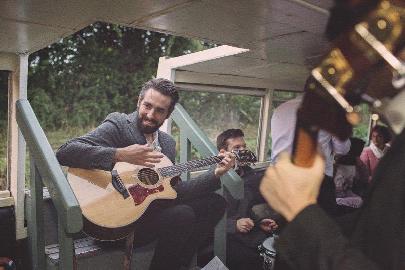 busking wedding band