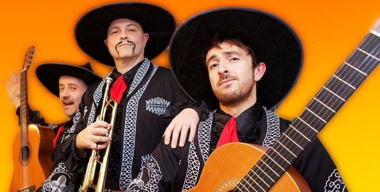 Mariachi Busking Band