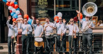 Brass band from London