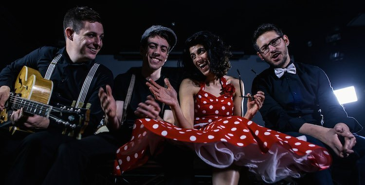 London based pop and swing wedding band