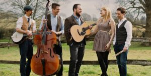 Hampshire based vintage wedding band with double bass and banjo