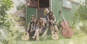 Female folk wedding band from London