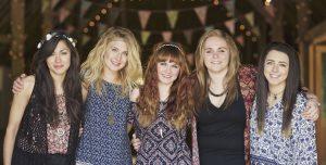 All female folk wedding band from London