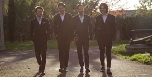 Retro styled wedding band The Twisters