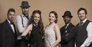 surrey based modern swing band Gatsby's Gramophone