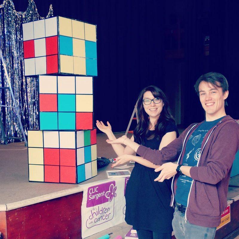 diy giant rubiks cube
