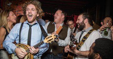 A Wandering Festival Wedding Band