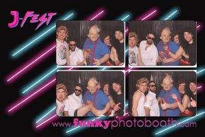 80s fancy dress photo booth
