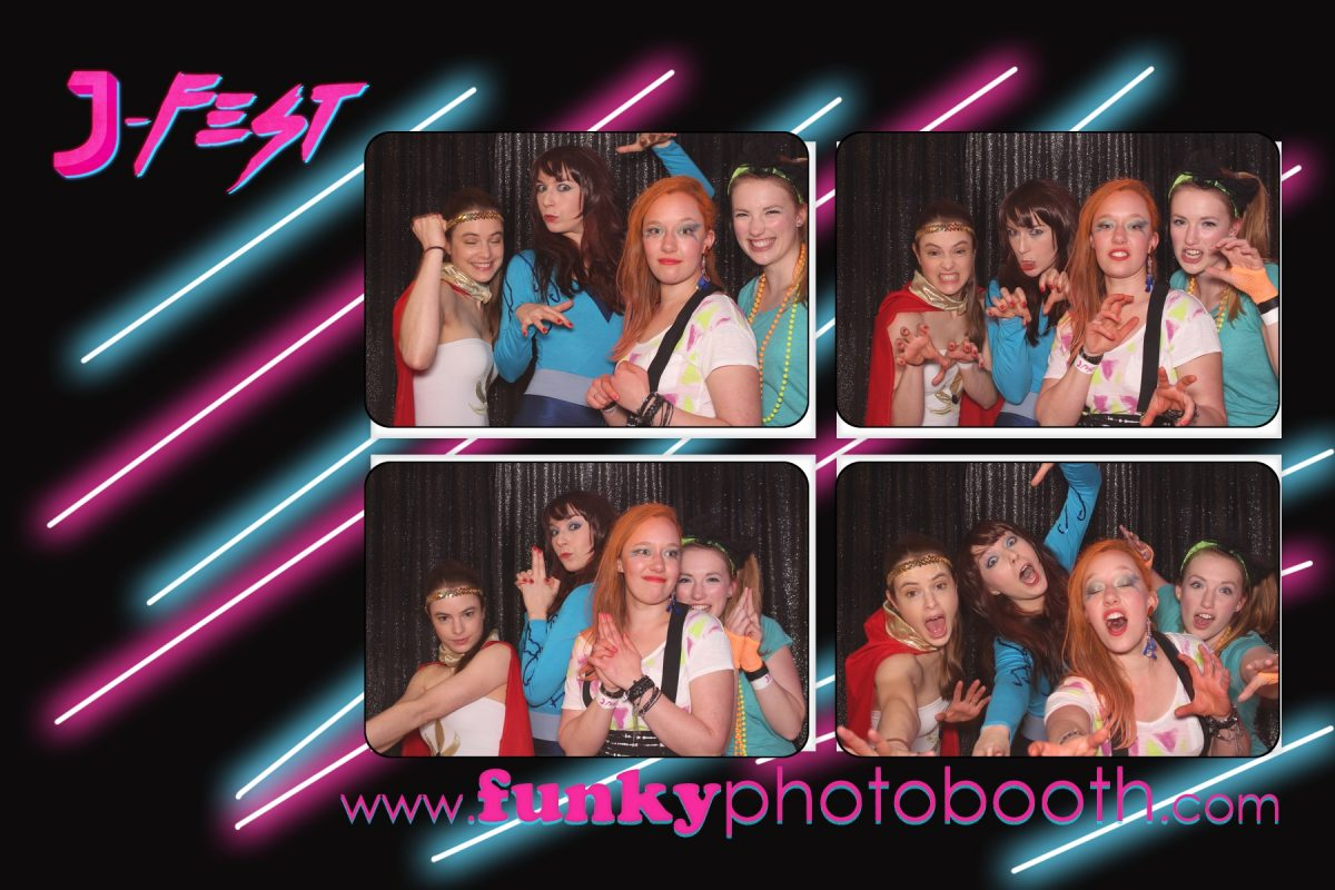 funkyphotobooth 1980s event photo booth