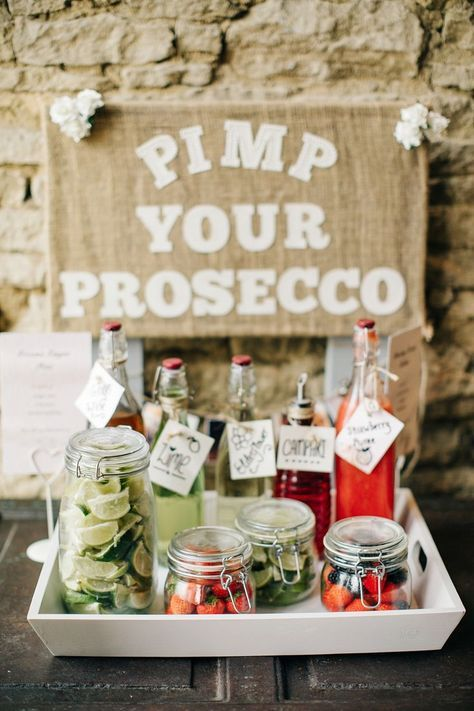 Wedding drinks ideas