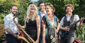 London based modern swing band with sax