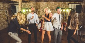 Quirky wedding entertainment