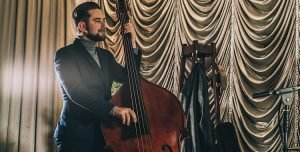 Leicester based jazz double bassist