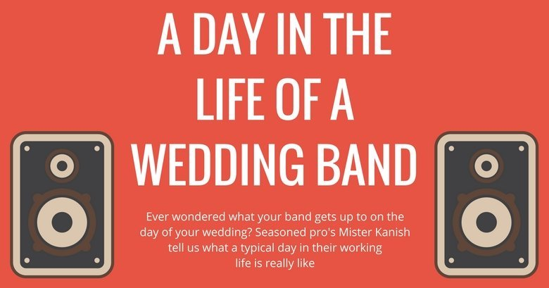 Day in the life of a wedding band