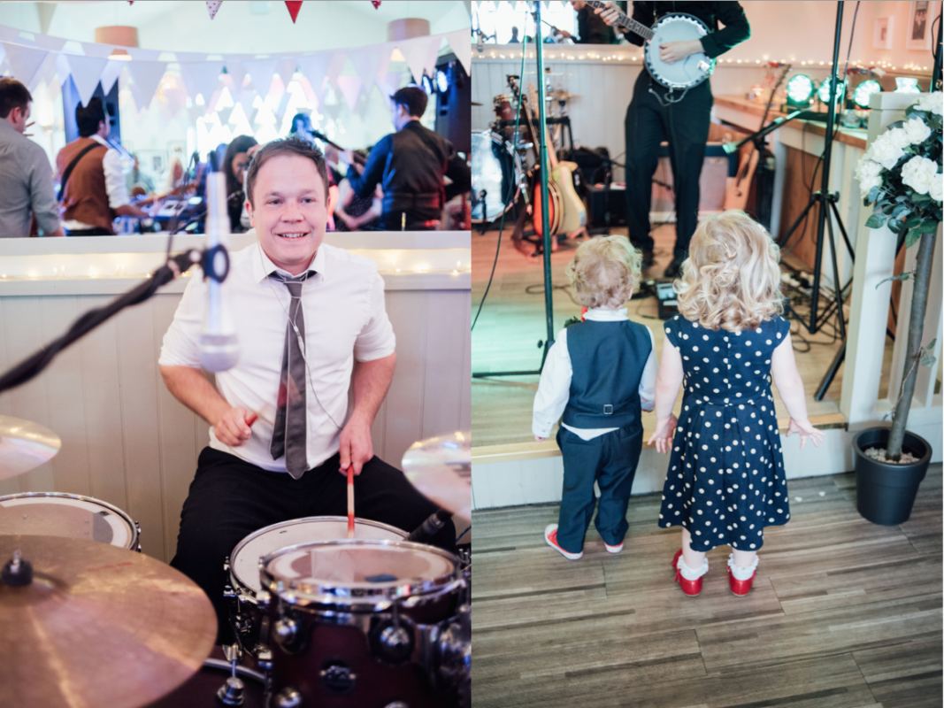 drummer children wedding