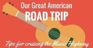 american road trip ideas with guitar