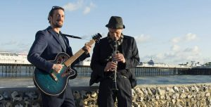 Clarinet and guitar duo from Brighton