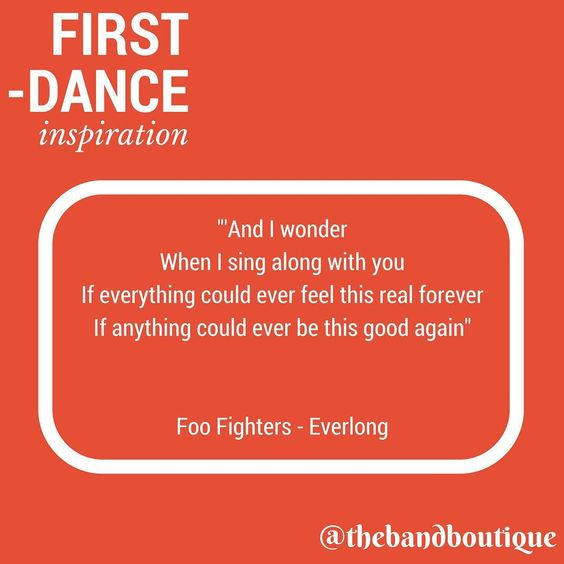 First Dance Inspiration | Wedding Song Ideas | The Band Boutique